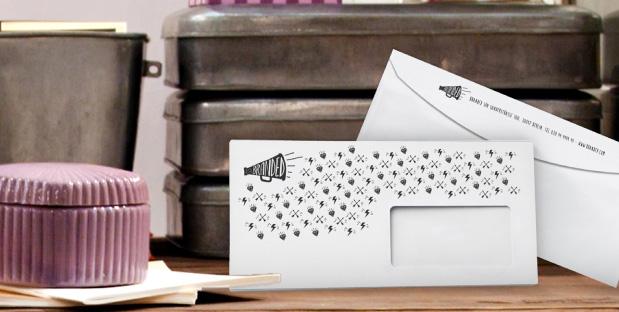 buste lettera personalizzate